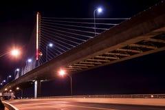 Pont en verre de Skyway de ville de vétérans image libre de droits