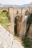 Pont et canyon Photos libres de droits