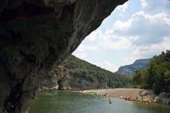 pont för båge D france Royaltyfri Foto