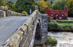 Pont Fawr Arkivbilder