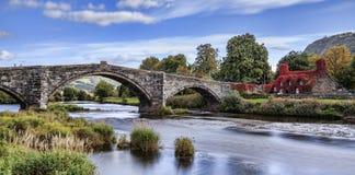 Pont Fawr Стоковые Изображения
