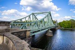 Pont Glienicke à Berlin photos libres de droits