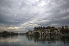 Pont-Heiliges Benezet lizenzfreie stockbilder