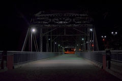 Pont historique dans l'alto de Trujillo, Porto Rico Photos libres de droits