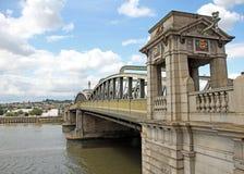 Pont historique de Rochester image libre de droits