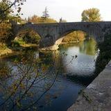 Pont i Sauve Royaltyfri Fotografi