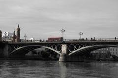 Pont Isabel II Photographie stock