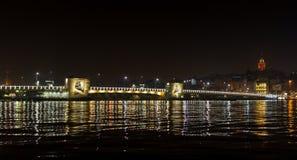 Pont Istanbul Turquie en phosphore Photos stock