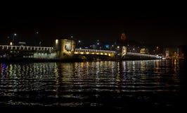 Pont Istanbul Turquie en phosphore Images libres de droits