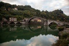 Pont Italie de diables Images stock