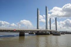 Pont Jacques Chaban-Delmas in Bordeaux, France Stock Photos