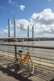 Pont Jacques Chaban-Delmas in Bordeaux, France Stock Images