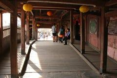 Pont japonais - Hoi An - Vietnam Photographie stock libre de droits
