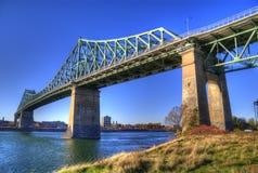 Pont Jaque-Cartier Fotografia Stock
