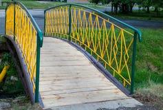 Pont jaune Photos stock