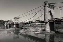 Pont of Langeais Stock Photography