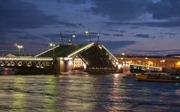 Pont-levis Image libre de droits
