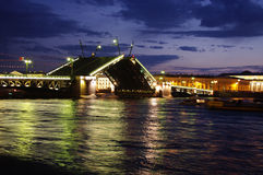 Pont-levis Photos stock