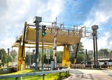 pont-levis Photos libres de droits