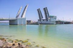 Pont-levis commun de la Floride photos stock