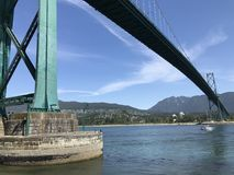 Pont Lions Gate royalty free stock images