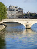 Pont Louis Philippe, Paris, France photo libre de droits