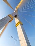 Pont méga en élingue, Rama 8, photos stock