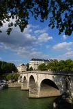 Pont Marie bridge. Stock Photo