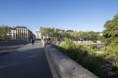 Pont Marie, Paris Images libres de droits