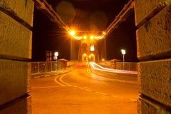 Pont Meni Galles del nord, Regno Unito Immagine Stock