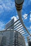 Pont moderne à Bangkok Photos libres de droits