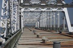 Pont Nashville, Tn de pied Photographie stock