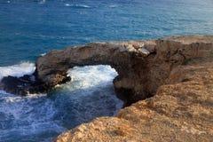 Pont naturel, Chypre Photos libres de droits