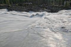 Pont naturel de lac vert Photos libres de droits