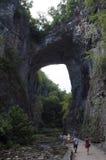 Pont naturel la Virginie Image stock