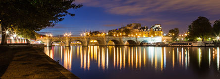 Pont Neuf,巴黎,法国 库存照片