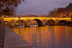 pont neuf рассвета Стоковые Фото