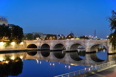 Pont Neuf. (New Bridge) in the dawn, Paris, France Stock Photo