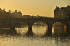 Pont Neuf. Paris, France in early morning Stock Photo