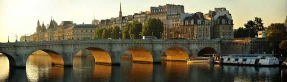 Pont Neuf. Paris, France in early morning Stock Image