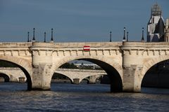 The Pont Neuf bridge Stock Photo