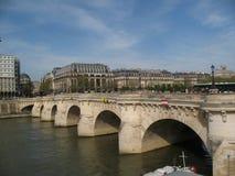 Pont neuf bridge Royalty Free Stock Photography