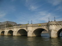 Pont neuf bridge royalty free stock images