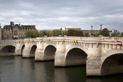 Pont Neuf Bridge, Paris Royalty Free Stock Photo