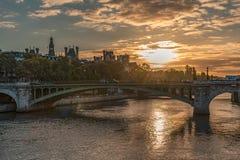 Pont Neuf bridge in Paris Royalty Free Stock Images
