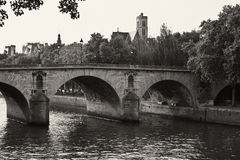 Pont Neuf Bridge in Paris Stock Images