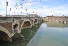 Pont Neuf em Toulouse Imagens de Stock Royalty Free