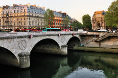 Pont Neuf in the morning Stock Photos