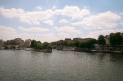 Pont Neuf, and New Bridge (fr. Pont Neuf) - the oldest surviving Stock Images