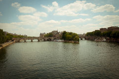 Pont Neuf, and New Bridge (fr. Pont Neuf) - the oldest surviving Stock Photos